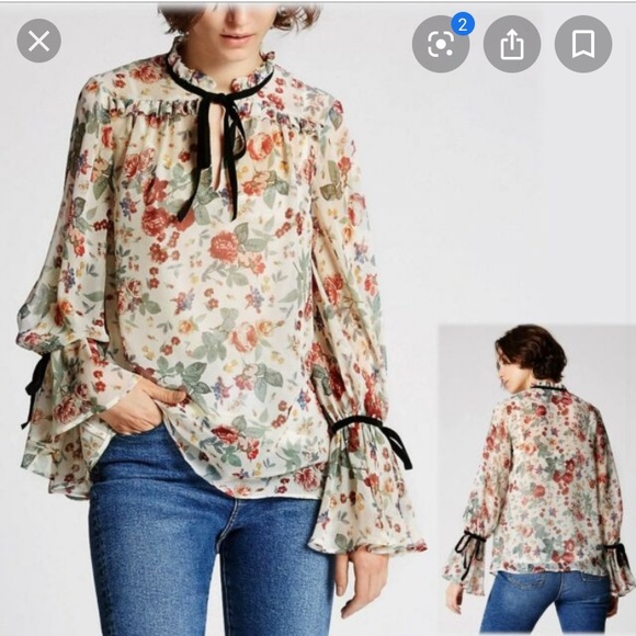 Marks & Spencer Limited Edition Floral blouse